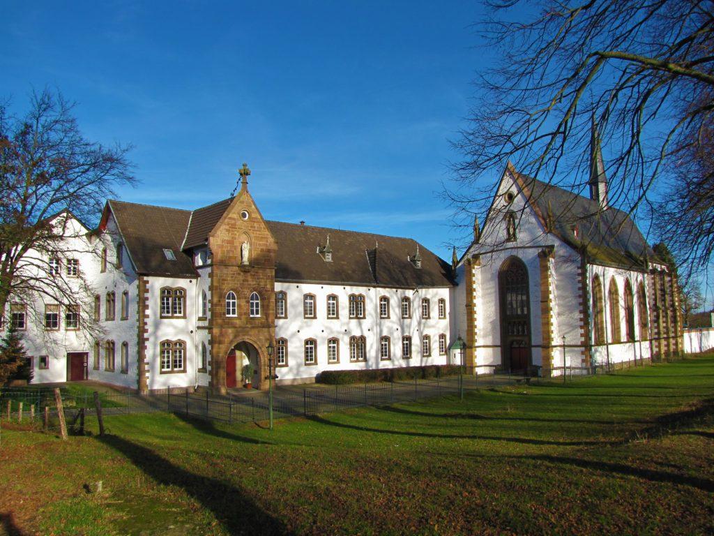 Abtei Mariawald im Winter